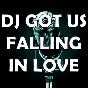 DJ Got Us Falling in Love (In the Style of Usher) cover