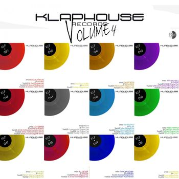 Klaphouse Records Compilation Deep & Tech Vol. 4 cover