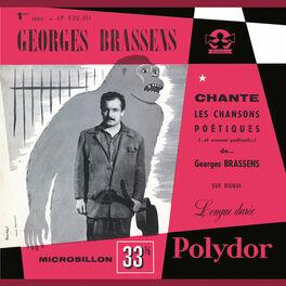 Album cover of Georges Brassens chante les chansons poétiques (et souvent gaillardes) N°1