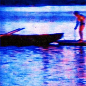 boy on the lake cover