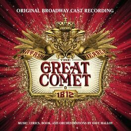 Album cover of Natasha, Pierre & the Great Comet of 1812 (Original Broadway Cast Recording)