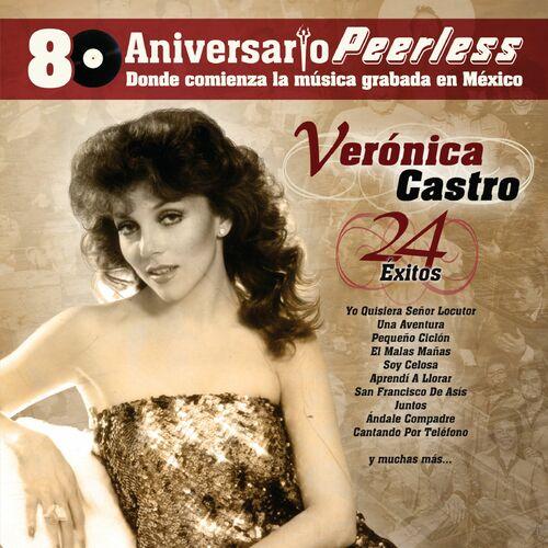 cD Veronica Castro-Peerless 80 Aniversario - 24 Exitos  500x500-000000-80-0-0