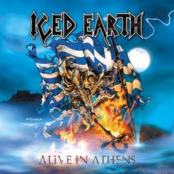 Iced Earth – Alive In Athens (Live) [3CDs] 1999 CD Completo