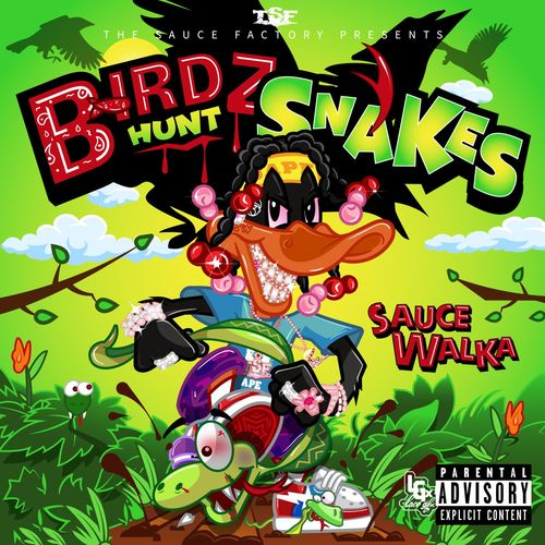 Sauce Walka - Birdz Hunt Snakes (2021) MP3 Hip Hop 320 KBS