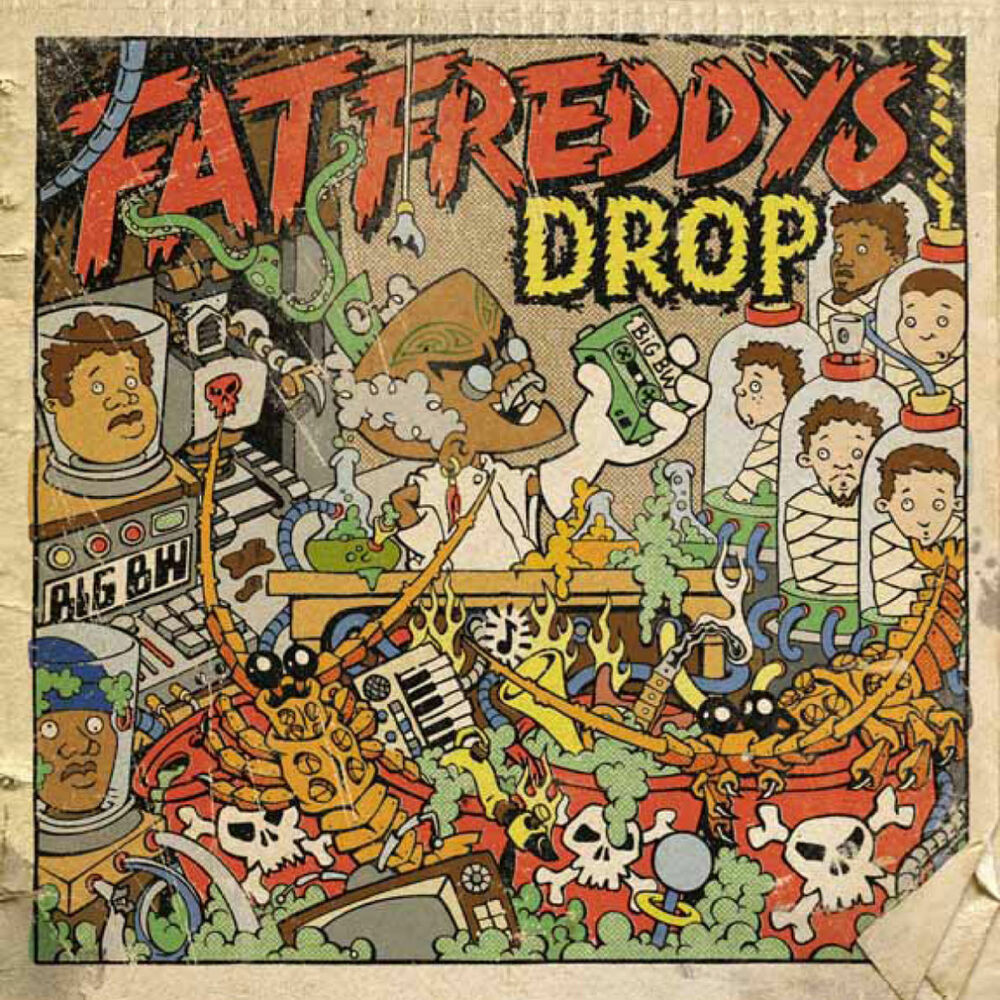 "Pochette de l'album ""The camel"" par Fat Freddy S Drop"