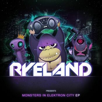 Monsters In Elektron City cover