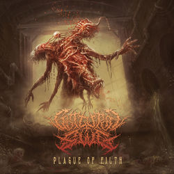 Guttural Slug – Plague of Filth 2019 CD Completo