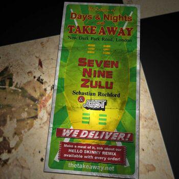 Seven Nine Zulu cover