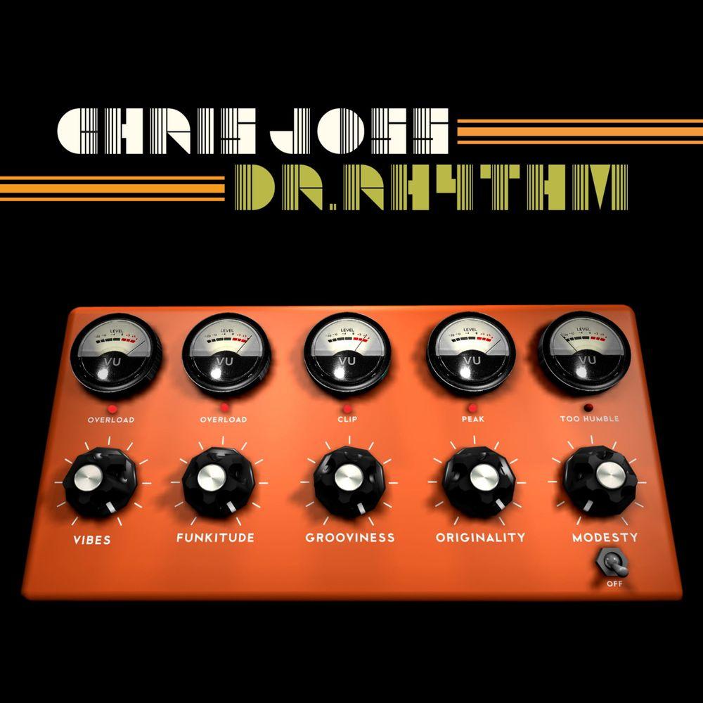 """Pochette de l'album """"Dr. Rhythm"""" par Chris Joss"""