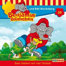 Folge 20 - Benjamin Blümchen und Bibi Blocksberg Audiobook