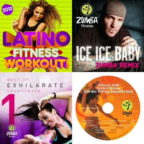 Zumba fitness cardio party workout