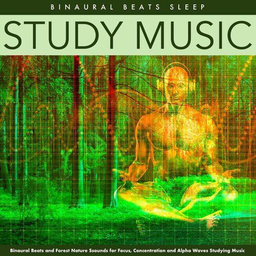 Binaural Beats Sleep - Study Music (Alpha Waves Forest