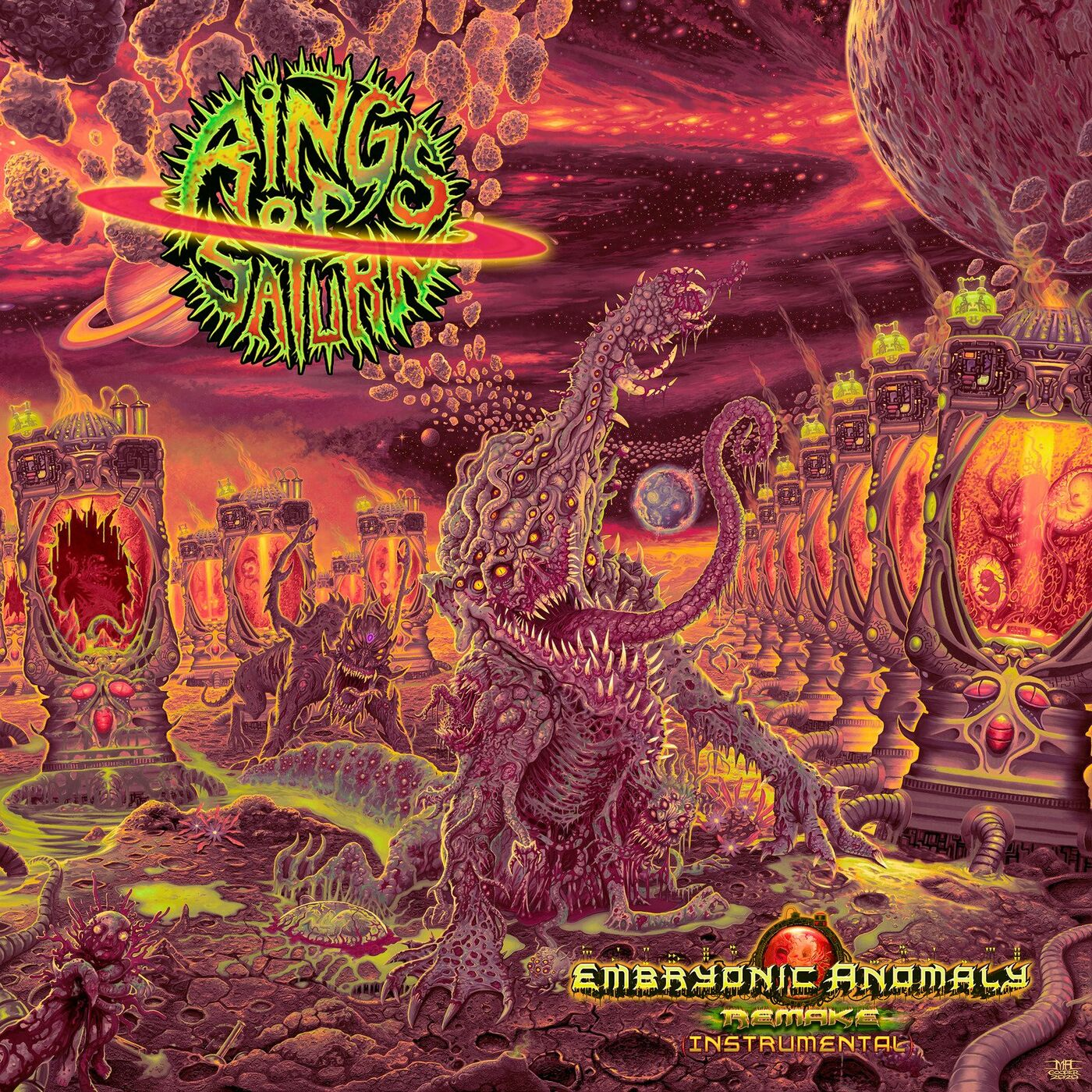 Rings of Saturn - Embryonic Anomaly Remake (Instrumental) (2021)
