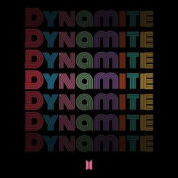 Capa BTS – Dynamite (NightTime Version) 2020