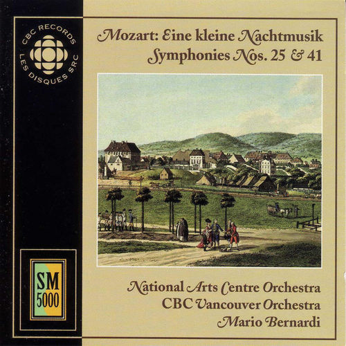 Baixar CD Mozart : Eine Kleine Nachtmusik – Symphonies n°25 & 41 – Wolfgang Amadeus Mozart (2000) Grátis