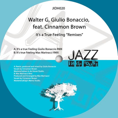 Walter G – It's a True Feeling – Remixes [Jazz In Da House]