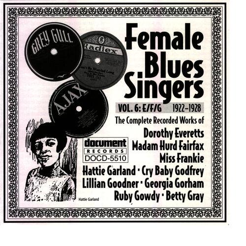 Various Artists - Document Records: Female Blues Singers Vol