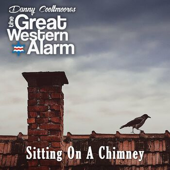 Sitting on a Chimney cover