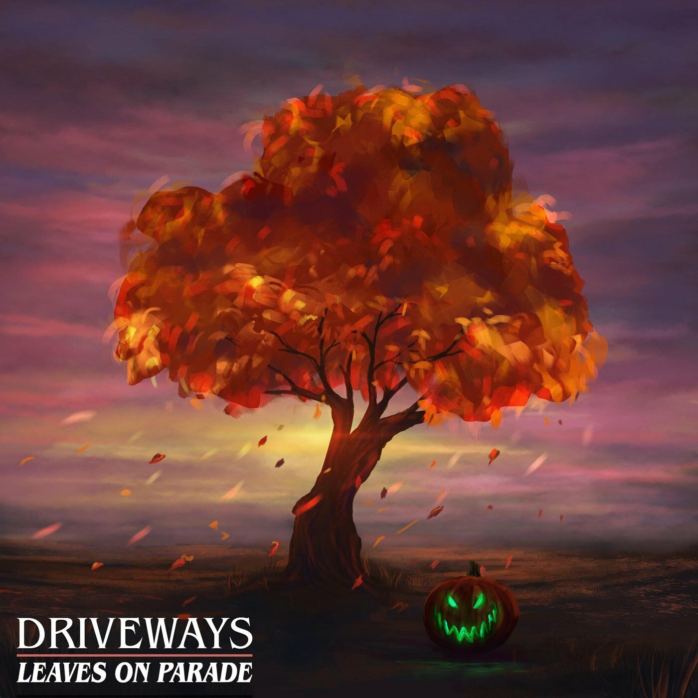 Driveways - Leaves on Parade [single] (2020)