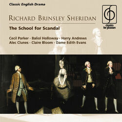 Richard Brinsley Sheridan: The School for Scandal Audiobook