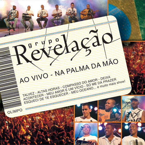 Baixar CD Ao Vivo – Na Palma da Mão – Grupo Revelação (2004) Grátis