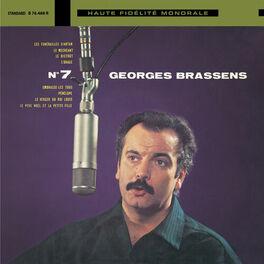 Album cover of Georges Brassens et sa guitare N°7