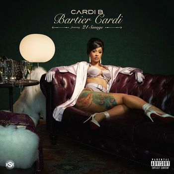 Bartier Cardi (feat. 21 Savage) cover