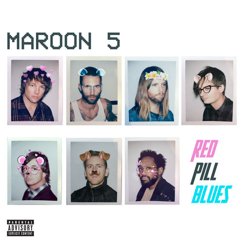 Download Maroon 5 - Red Pill Blues 2018