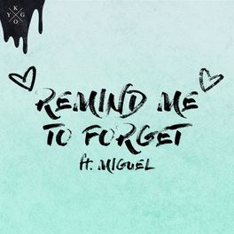 Album cover of Remind Me to Forget