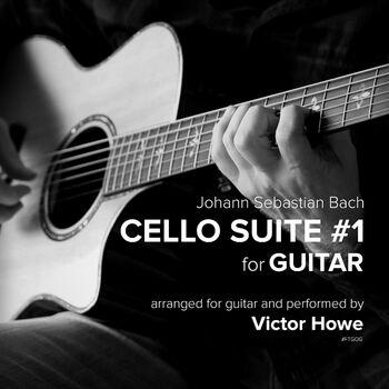 Cello Suite #1 for Guitar cover