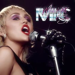 Capa Miley Cyrus – Midnight Sky 2020