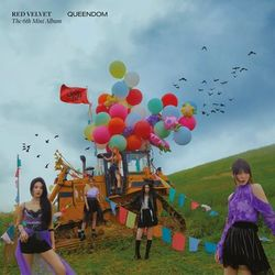 Red Velvet – Queendom – The 6th Mini Album 2021 CD Completo