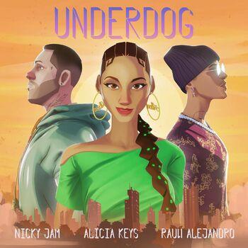 Underdog (Nicky Jam & Rauw Alejandro Remix) cover