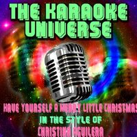have yourself a merry little christmas karaoke version in the style of christina aguilera