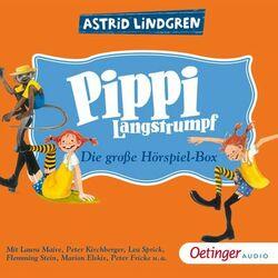 Pippi Langstrumpf. Die große Hörspielbox Audiobook