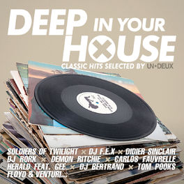 Album cover of Deep in Your House (Classic Hits Selected by UN*DEUX)