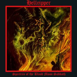 Album cover of Spectres of the Blood Moon Sabbath