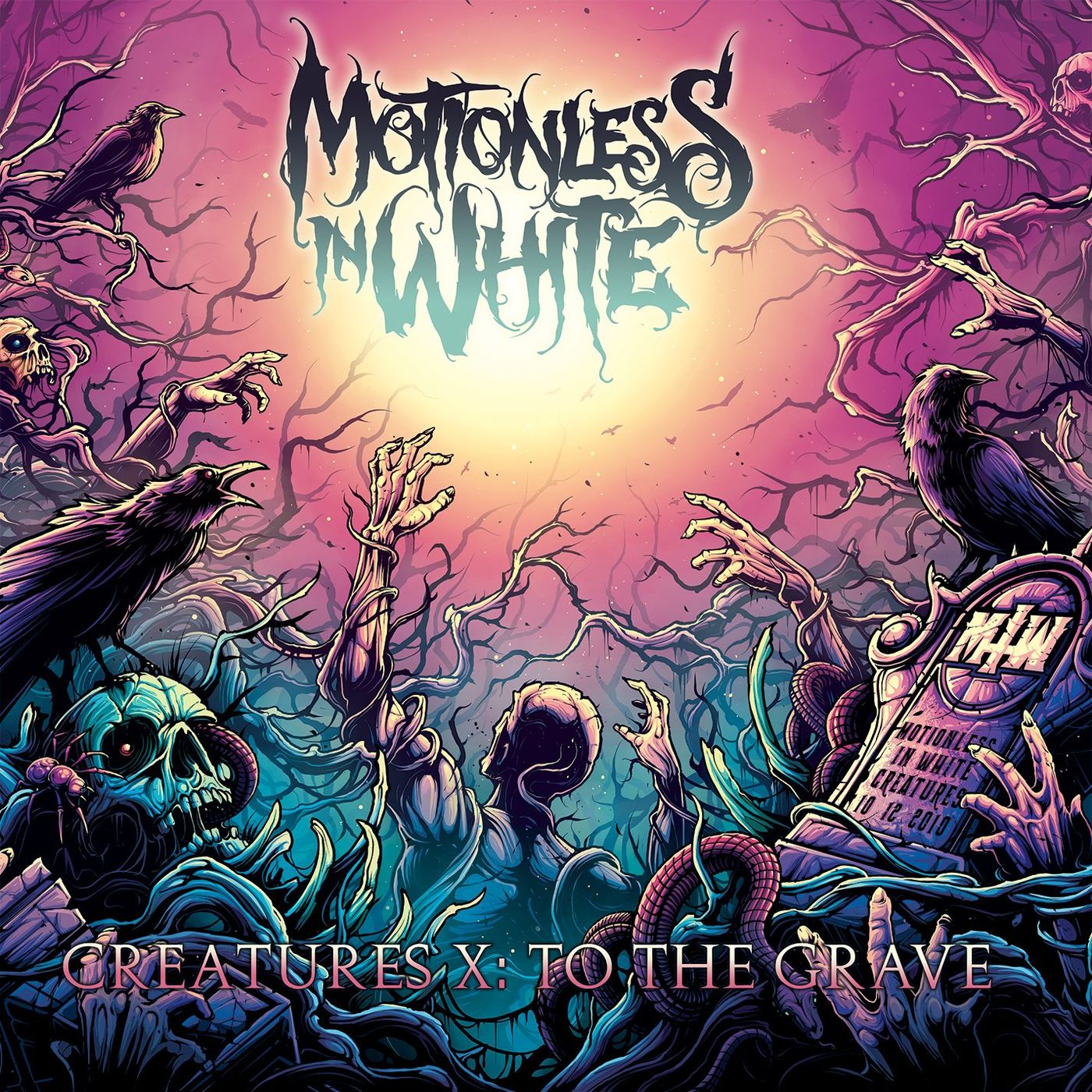 Motionless In White - Creatures X: To The Grave [single] (2020)