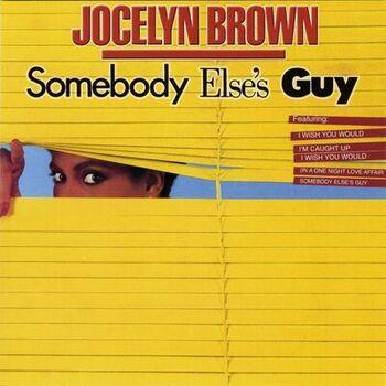 Somebody Else's Guy cover