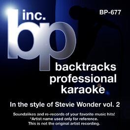 Backtrack Professional Karaoke Band Isn T She Lovely Instrumental Track Without Background Vocal Karaoke In The Style Of Stevie Wonder Listen With Lyrics Deezer