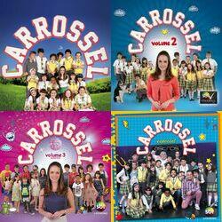 Carrossel Volume 1,2,3, Astros e Faixas Bônus CD Completo