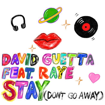 Stay (Don't Go Away) [feat. Raye] cover