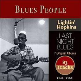 Album cover of Last Night Blues (Blues People 1948 - 1955)