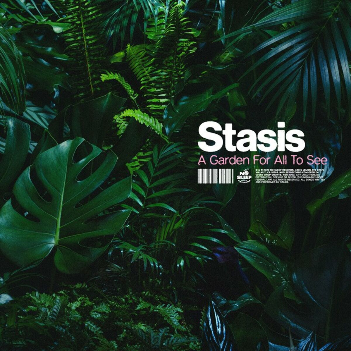 Stasis - A Garden For All To See [EP] (2020)