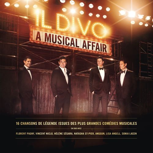 Il divo a musical affair french version music - Streaming il divo ...