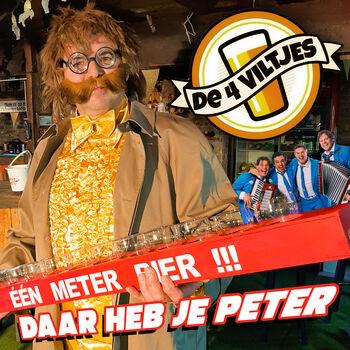 Daar Heb Je Peter cover
