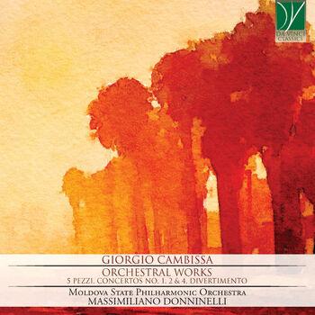 Cinque pezzi per orchestra: No. 4, Un po' lento cover