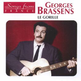 Album cover of Georges Brassens : Le gorille (Songs from France)