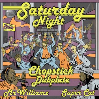 Saturday Night feat Mr Williamz cover