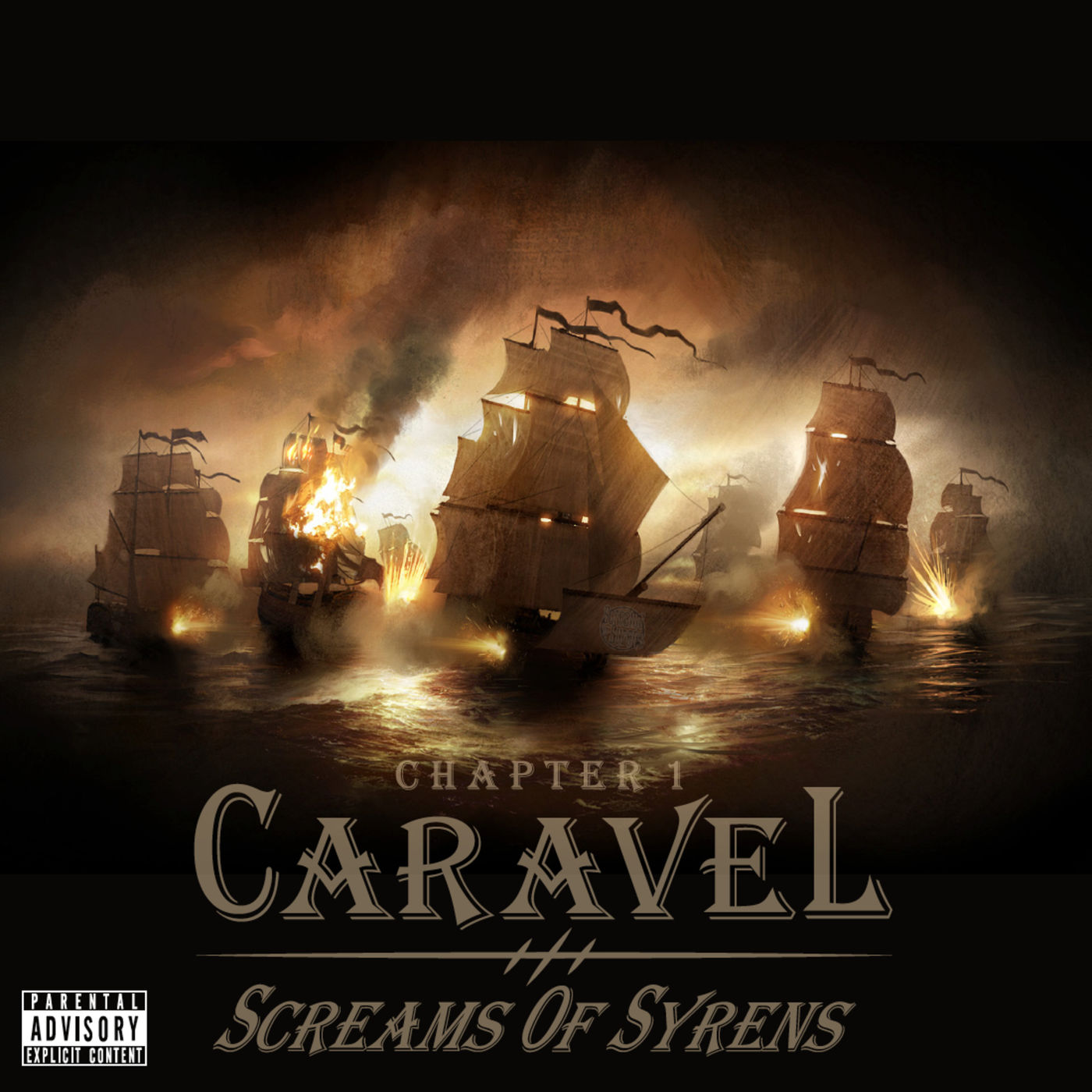 Screams of Syrens - Chapter 1: Caravel [EP] (2015)